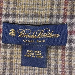 Brooks Brothers Camel Hair Scarf **JUST REDUCED**